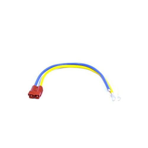 Kabel m. stik 50 amp 117cm