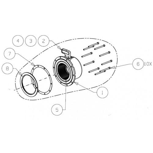 Gearhus med frikobling PN 92083