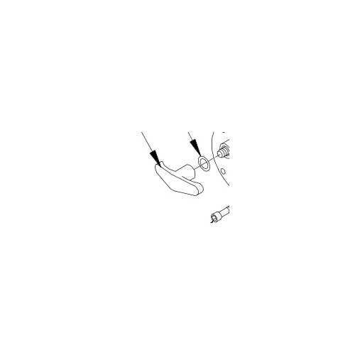 Håndtag frikobling M8274 PN 37474