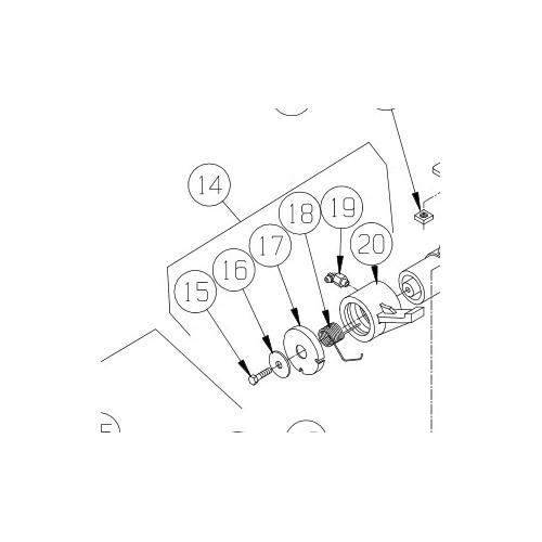 Pal for bremse M8274. PN 7605