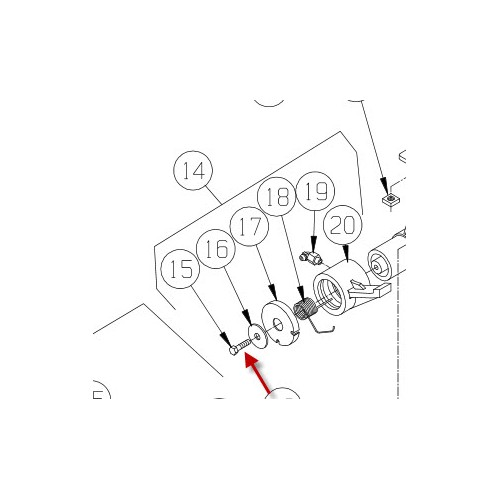 Pal for bremse M8274. PN 8867