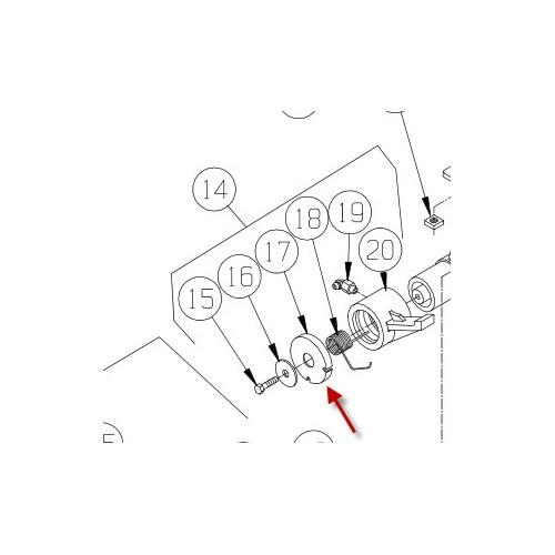 Cap for bremse M8274. PN 9220