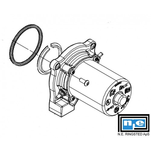 Motor 12V PN 73900