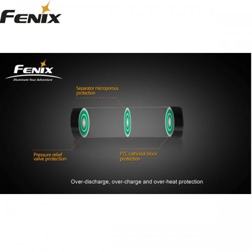 Batteri genopladeligt C18 650CC FENIX for RC40