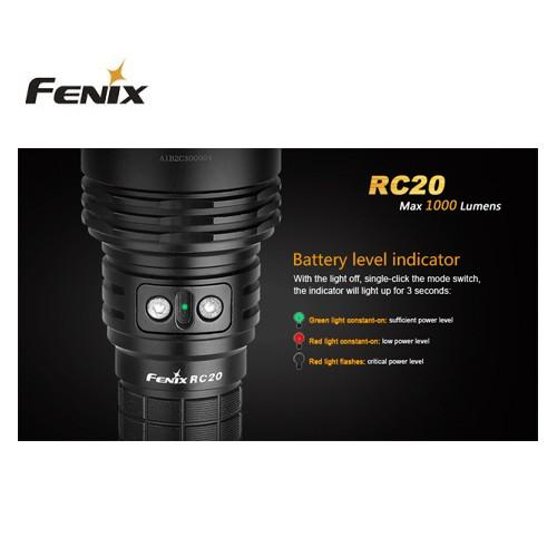 Fenix RC20 lommelygte