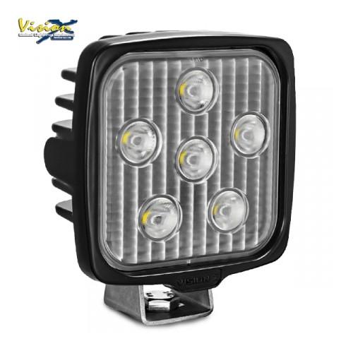 VISION X VL-SERIE FIRKANTET 6-LED 30W