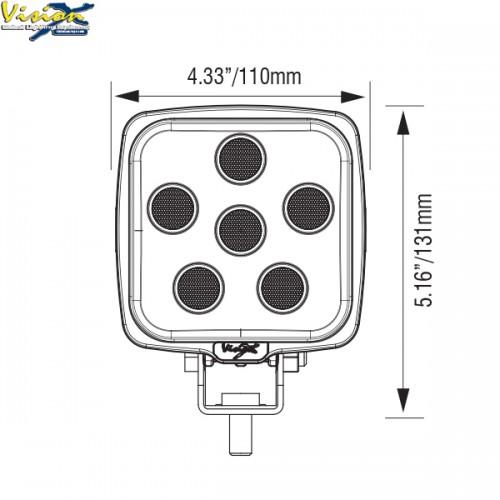 LED arbejdslampe fra Vision X VWS050640