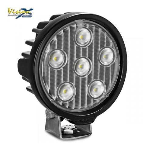 LED Arbejdslygte VISION X VL-SERIE RUND 6-LED 30W