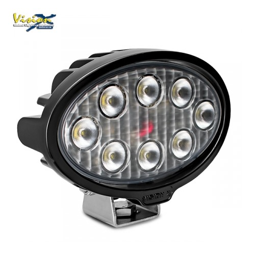 VISION X VL-SERIE OVAL 8-LED 40W