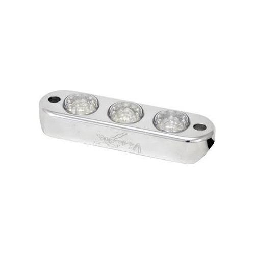 3 LED POD LIGHT RØD.