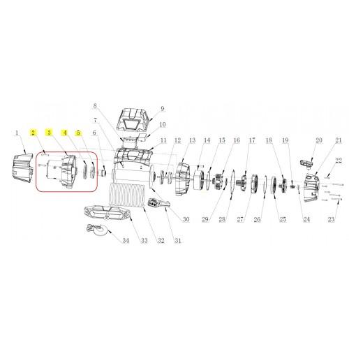 Motor 12V VR EVO 8, 8-S