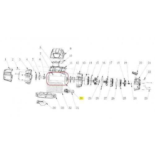 Trommel for WARN VR EVO 8 - 12