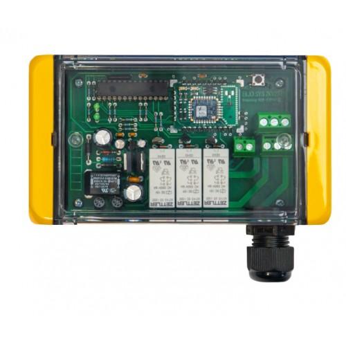 Radiostyring for spil - Modtager